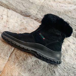 Pajar Italian Fur Designer Snow Boots